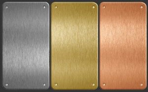 Aluminum, copper and Brass Metal Plates